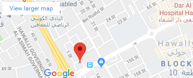 Kuwait Office Map